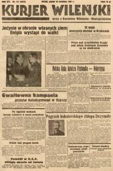 Kurjer Wileński wraz z Kurjerem Wileńsko-Nowogródzkim. 1937, nr117