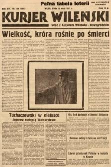Kurjer Wileński wraz z Kurjerem Wileńsko-Nowogródzkim. 1937, nr129