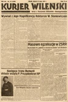 Kurjer Wileński wraz z Kurjerem Wileńsko-Nowogródzkim. 1937, nr141