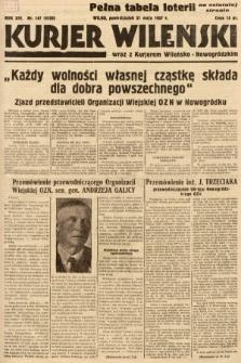 Kurjer Wileński wraz z Kurjerem Wileńsko-Nowogródzkim. 1937, nr147
