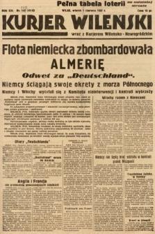 Kurjer Wileński wraz z Kurjerem Wileńsko-Nowogródzkim. 1937, nr148
