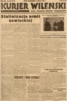 Kurjer Wileński wraz z Kurjerem Wileńsko-Nowogródzkim. 1937, nr154