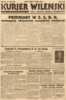 Kurjer Wileński wraz z Kurjerem Wileńsko-Nowogródzkim. 1937, nr158