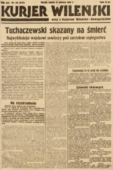 Kurjer Wileński wraz z Kurjerem Wileńsko-Nowogródzkim. 1937, nr159