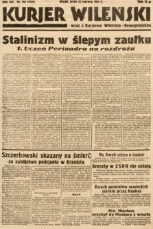 Kurjer Wileński wraz z Kurjerem Wileńsko-Nowogródzkim. 1937, nr163