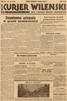 Kurjer Wileński wraz z Kurjerem Wileńsko-Nowogródzkim. 1937, nr164