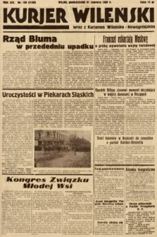 Kurjer Wileński wraz z Kurjerem Wileńsko-Nowogródzkim. 1937, nr168