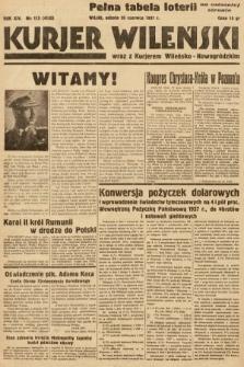 Kurjer Wileński wraz z Kurjerem Wileńsko-Nowogródzkim. 1937, nr173