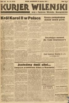 Kurjer Wileński wraz z Kurjerem Wileńsko-Nowogródzkim. 1937, nr175