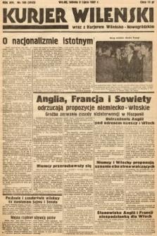 Kurjer Wileński wraz z Kurjerem Wileńsko-Nowogródzkim. 1937, nr180