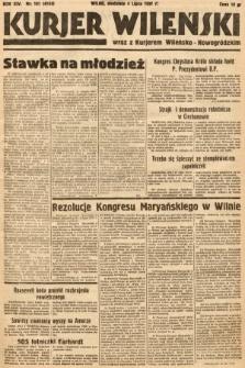 Kurjer Wileński wraz z Kurjerem Wileńsko-Nowogródzkim. 1937, nr181