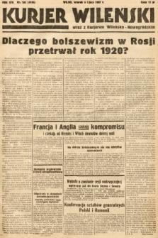 Kurjer Wileński wraz z Kurjerem Wileńsko-Nowogródzkim. 1937, nr183