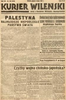 Kurjer Wileński wraz z Kurjerem Wileńsko-Nowogródzkim. 1937, nr186