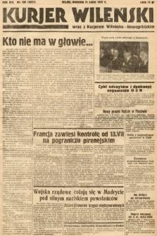 Kurjer Wileński wraz z Kurjerem Wileńsko-Nowogródzkim. 1937, nr188
