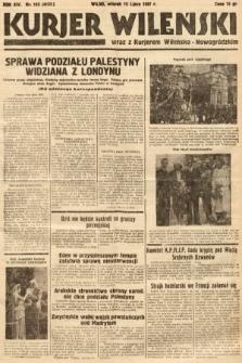 Kurjer Wileński wraz z Kurjerem Wileńsko-Nowogródzkim. 1937, nr190