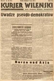 Kurjer Wileński wraz z Kurjerem Wileńsko-Nowogródzkim. 1937, nr192