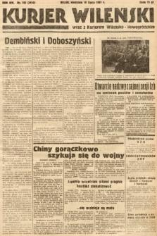 Kurjer Wileński wraz z Kurjerem Wileńsko-Nowogródzkim. 1937, nr195