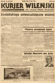 Kurjer Wileński wraz z Kurjerem Wileńsko-Nowogródzkim. 1937, nr198