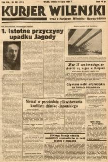 Kurjer Wileński wraz z Kurjerem Wileńsko-Nowogródzkim. 1937, nr201
