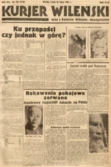 Kurjer Wileński wraz z Kurjerem Wileńsko-Nowogródzkim. 1937, nr205
