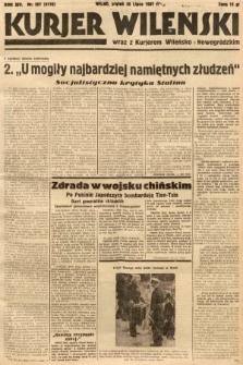 Kurjer Wileński wraz z Kurjerem Wileńsko-Nowogródzkim. 1937, nr207