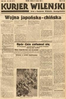 Kurjer Wileński wraz z Kurjerem Wileńsko-Nowogródzkim. 1937, nr208
