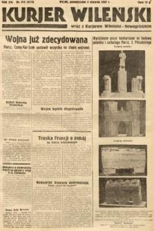 Kurjer Wileński wraz z Kurjerem Wileńsko-Nowogródzkim. 1937, nr210