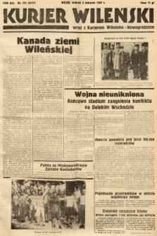 Kurjer Wileński wraz z Kurjerem Wileńsko-Nowogródzkim. 1937, nr211