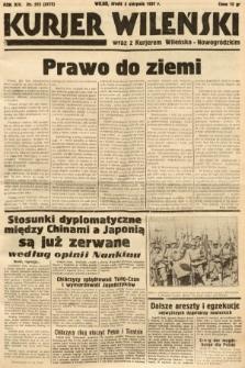 Kurjer Wileński wraz z Kurjerem Wileńsko-Nowogródzkim. 1937, nr212