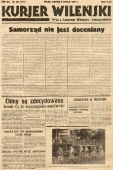 Kurjer Wileński wraz z Kurjerem Wileńsko-Nowogródzkim. 1937, nr213