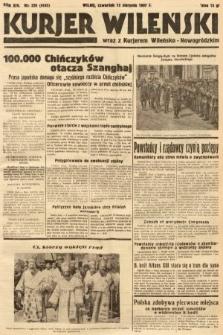 Kurjer Wileński wraz z Kurjerem Wileńsko-Nowogródzkim. 1937, nr220