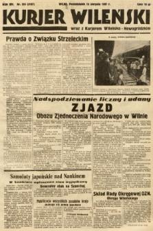 Kurjer Wileński wraz z Kurjerem Wileńsko-Nowogródzkim. 1937, nr224