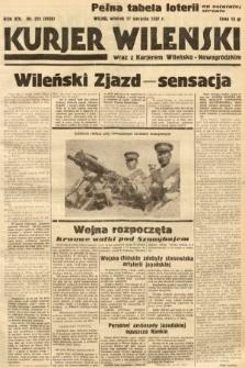 Kurjer Wileński wraz z Kurjerem Wileńsko-Nowogródzkim. 1937, nr225