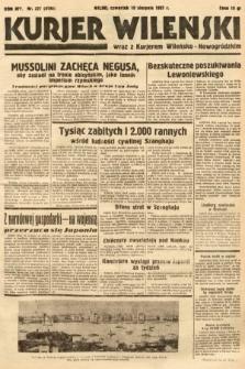 Kurjer Wileński wraz z Kurjerem Wileńsko-Nowogródzkim. 1937, nr227