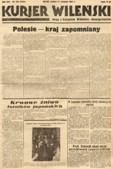 Kurjer Wileński wraz z Kurjerem Wileńsko-Nowogródzkim. 1937, nr229
