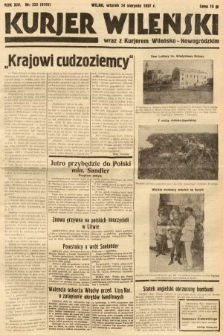 Kurjer Wileński wraz z Kurjerem Wileńsko-Nowogródzkim. 1937, nr232