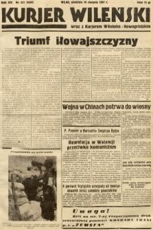 Kurjer Wileński wraz z Kurjerem Wileńsko-Nowogródzkim. 1937, nr237