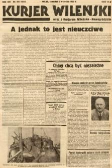 Kurjer Wileński wraz z Kurjerem Wileńsko-Nowogródzkim. 1937, nr241