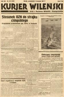 Kurjer Wileński wraz z Kurjerem Wileńsko-Nowogródzkim. 1937, nr245