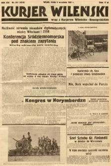 Kurjer Wileński wraz z Kurjerem Wileńsko-Nowogródzkim. 1937, nr247