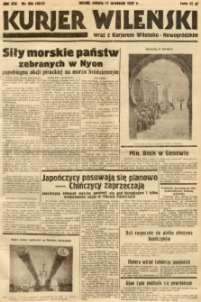 Kurjer Wileński wraz z Kurjerem Wileńsko-Nowogródzkim. 1937, nr250