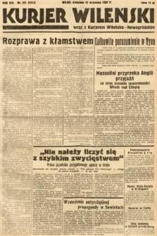 Kurjer Wileński wraz z Kurjerem Wileńsko-Nowogródzkim. 1937, nr251