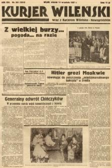 Kurjer Wileński wraz z Kurjerem Wileńsko-Nowogródzkim. 1937, nr253