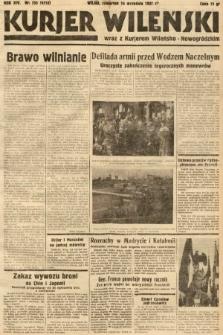 Kurjer Wileński wraz z Kurjerem Wileńsko-Nowogródzkim. 1937, nr255