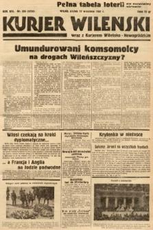Kurjer Wileński wraz z Kurjerem Wileńsko-Nowogródzkim. 1937, nr256