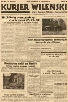 Kurjer Wileński wraz z Kurjerem Wileńsko-Nowogródzkim. 1937, nr259