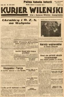 Kurjer Wileński wraz z Kurjerem Wileńsko-Nowogródzkim. 1937, nr260