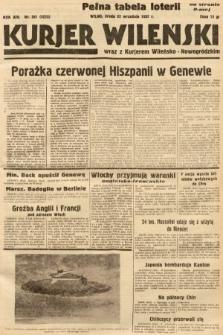 Kurjer Wileński wraz z Kurjerem Wileńsko-Nowogródzkim. 1937, nr261