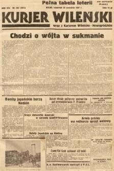 Kurjer Wileński wraz z Kurjerem Wileńsko-Nowogródzkim. 1937, nr262
