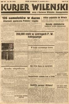 Kurjer Wileński wraz z Kurjerem Wileńsko-Nowogródzkim. 1937, nr266